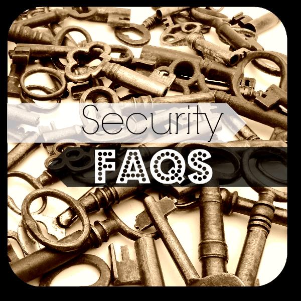 SecurityFAQs