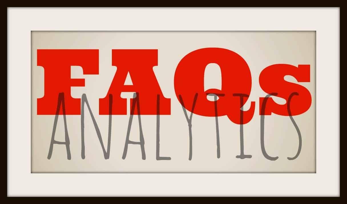 AnalyticsFAQs