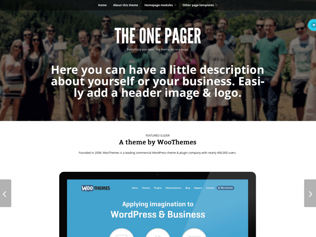 Screen Shot TheOnePager