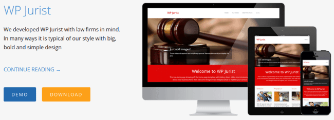 Light Themes - WP Jurist