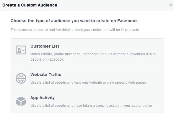 Facebook Ads-Custom Audiences