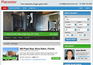 Free and Premium Real Estate Themes for WordPress » WP Dev Shed