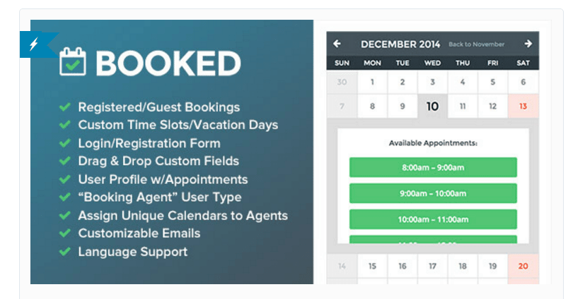 booked