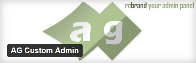 ag custom admin