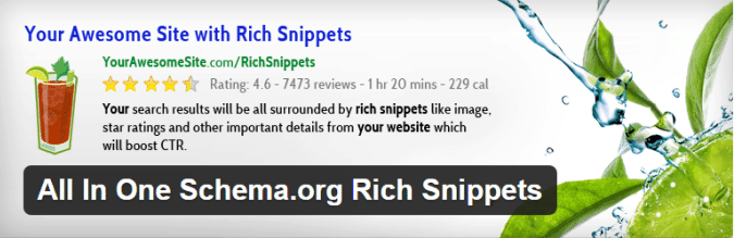 all in one schemaorg rich snippets