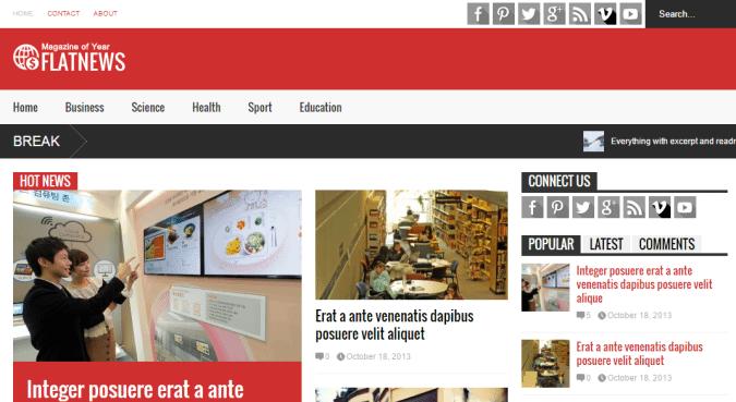 flat-news