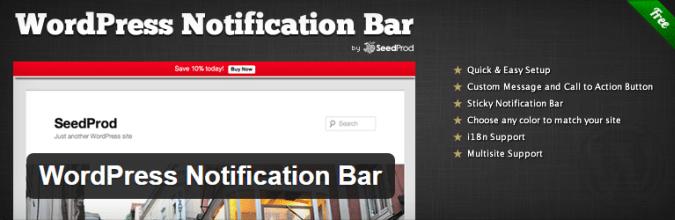 wordpress-notification-bar