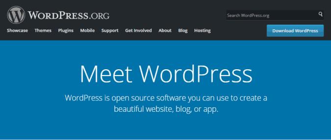 selfhosted wordpress