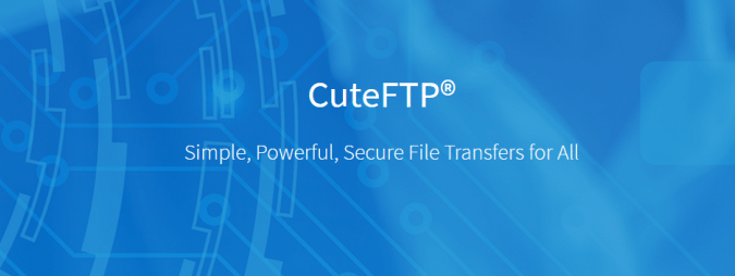 CuteFTP software
