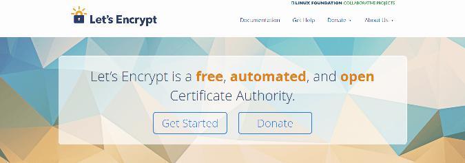 lets encrypt free ssl certs