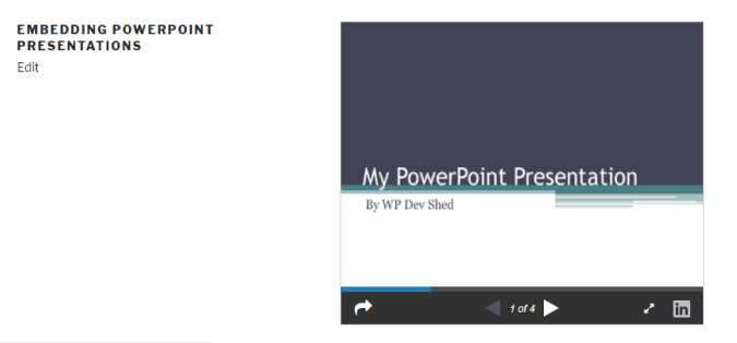How to Embed PowerPoint Into a WordPress Page or Post » WP