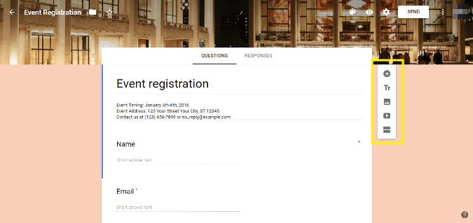 2 event registration