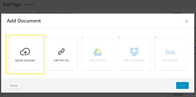 4 upload document