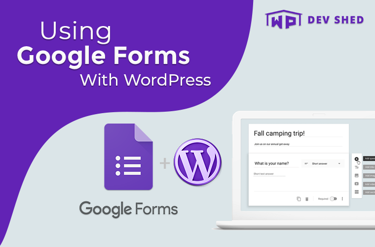 Using Google Forms With WordPress