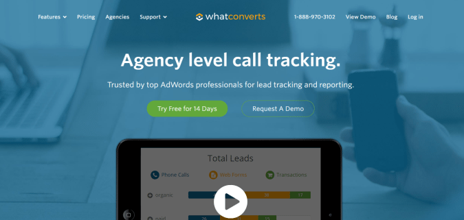 what converts call tracking