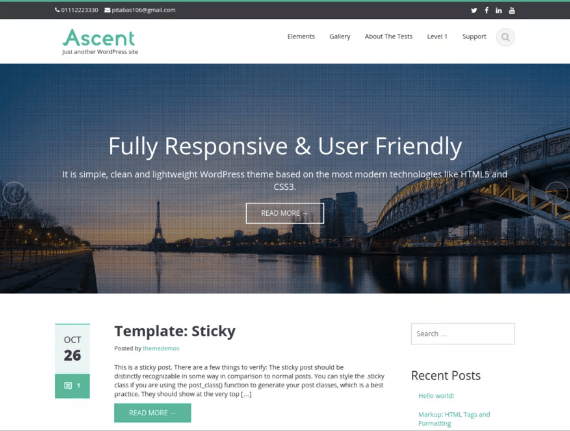ascent wordpress theme for lawyers