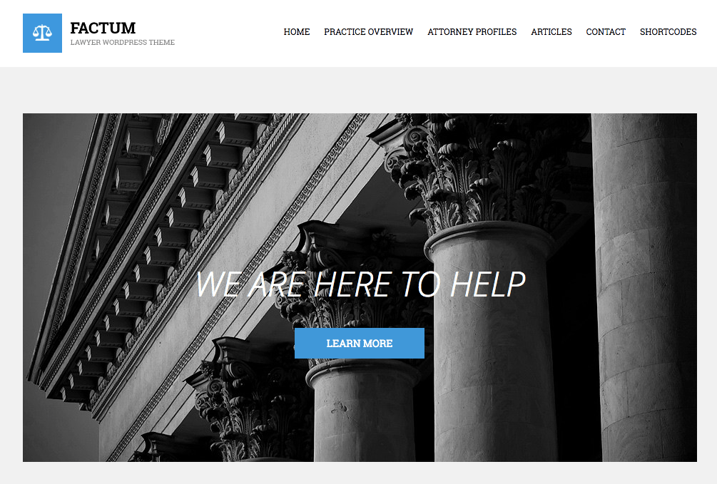 factum theme for lawyers
