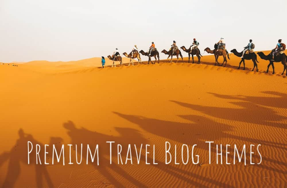 premium travel blog themes