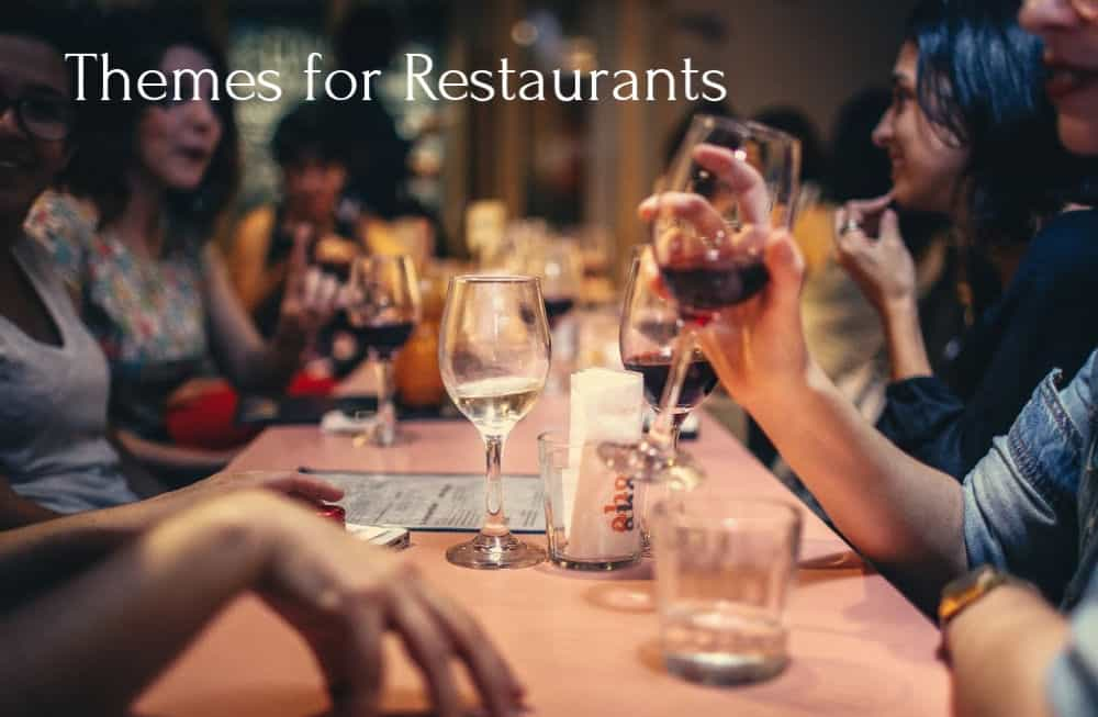 best wordpress themes for restaurants