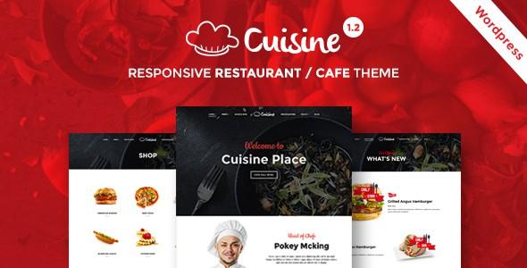 cuisine restaurant theme
