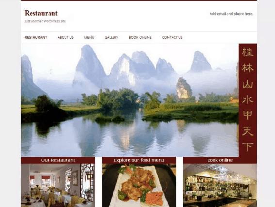 free restaurant theme for wordpress