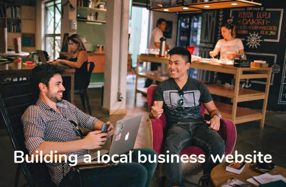 local business website