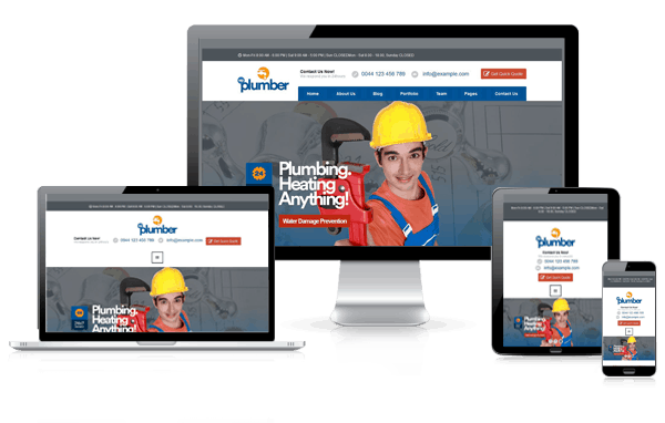 plumber building