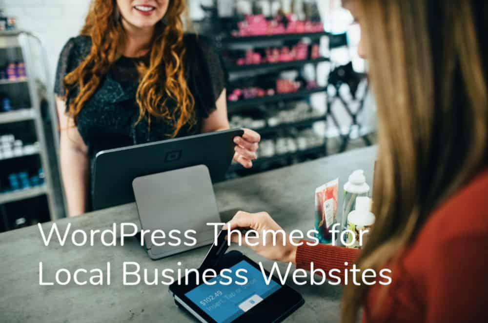 wordpress themes for local businesses