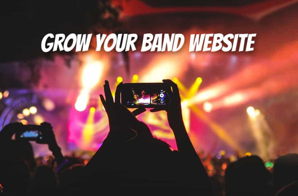 build a better band website