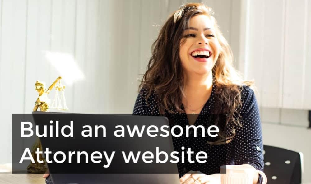 build an attorney website 1