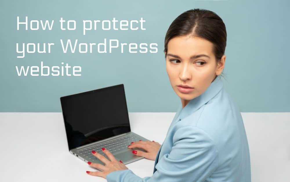 how to protect wordpress website