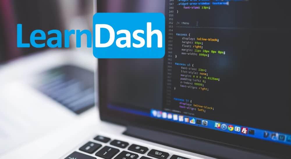 building a learndash website
