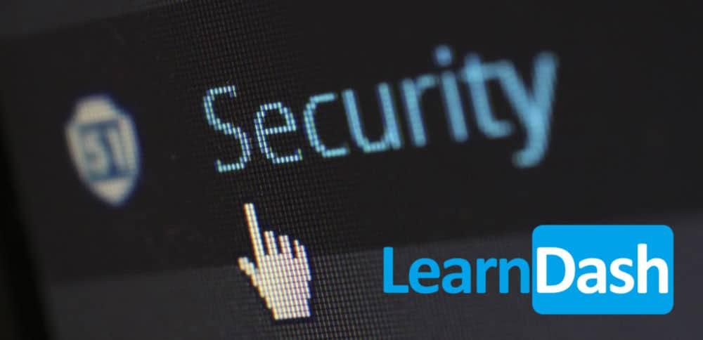 learndash security