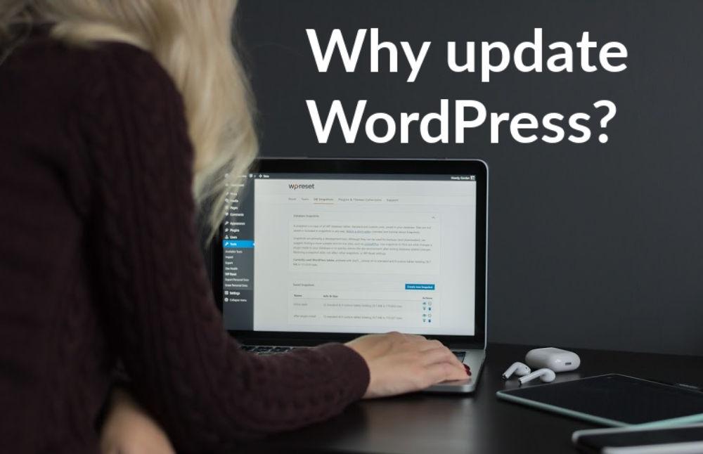 why update wordpress