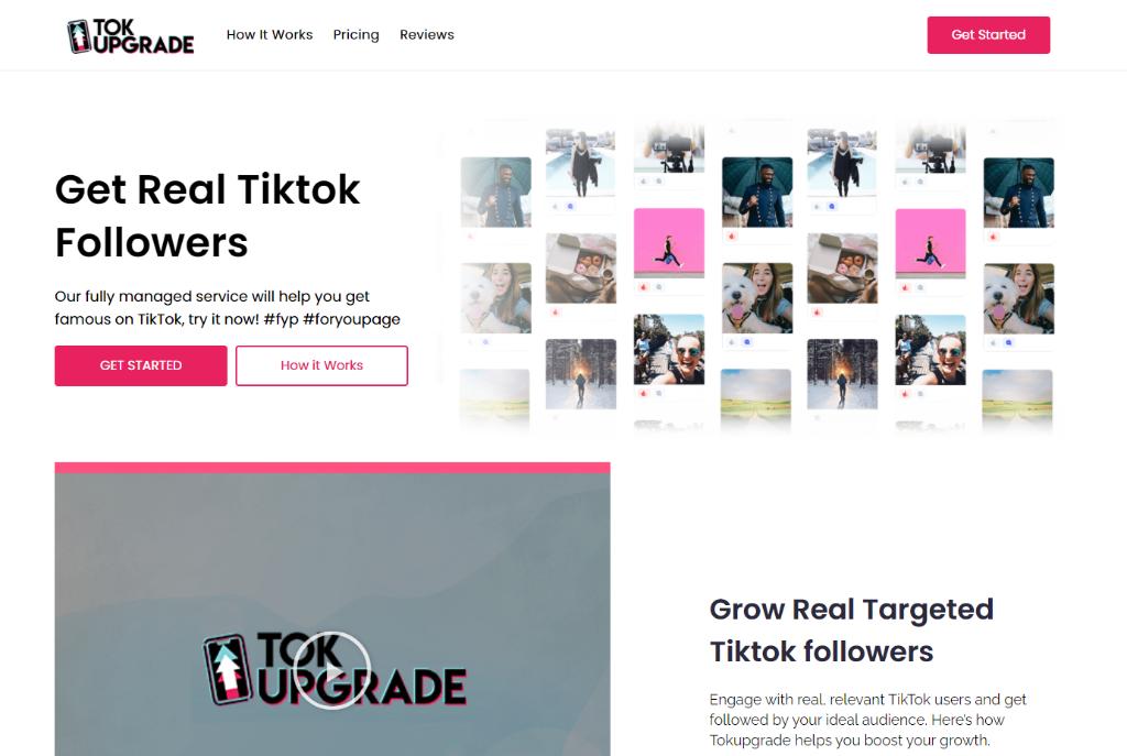 TokUpgrade - Buy TikTok Followers