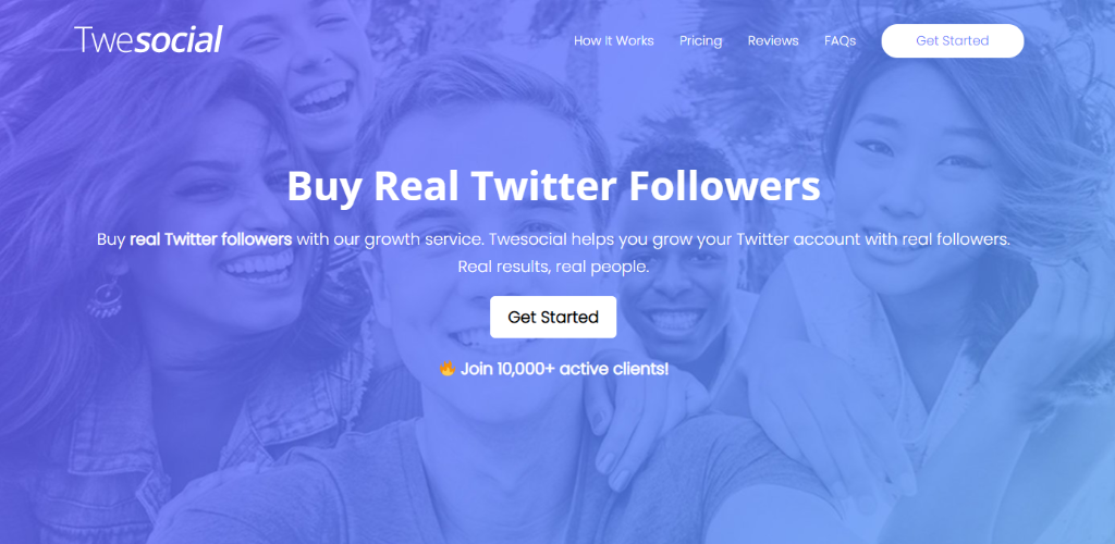 Twesocial - Buy Real Twitter Followers