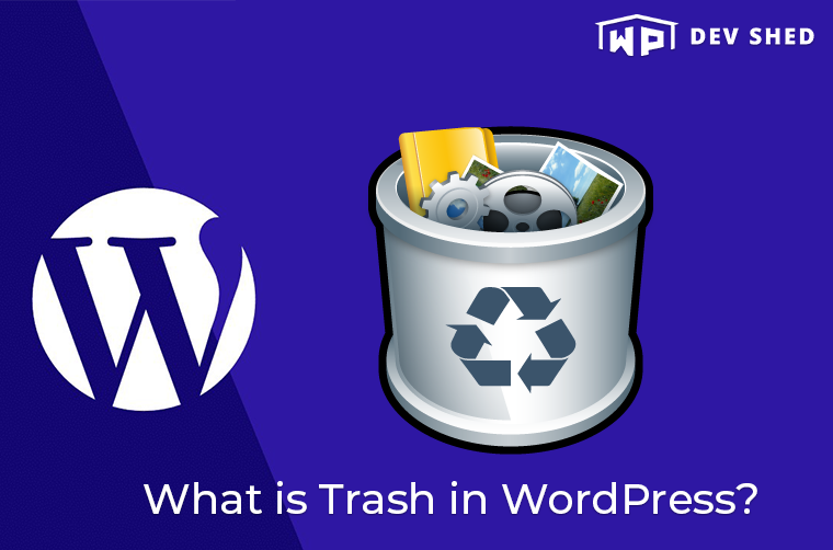 What is Trash in WordPress?