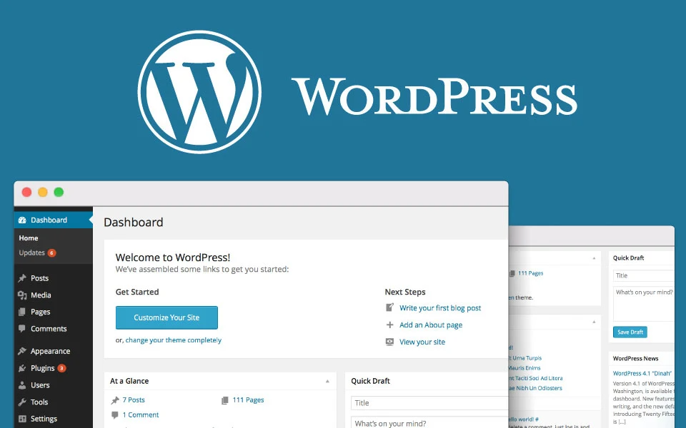 What is Backend in WordPress?
