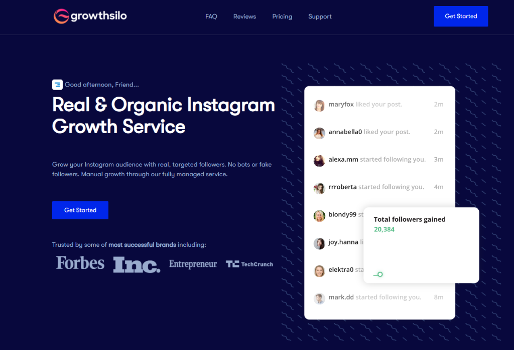How I Grew My Instagram 10 Times Faster with Growthsilo: A Quick Review