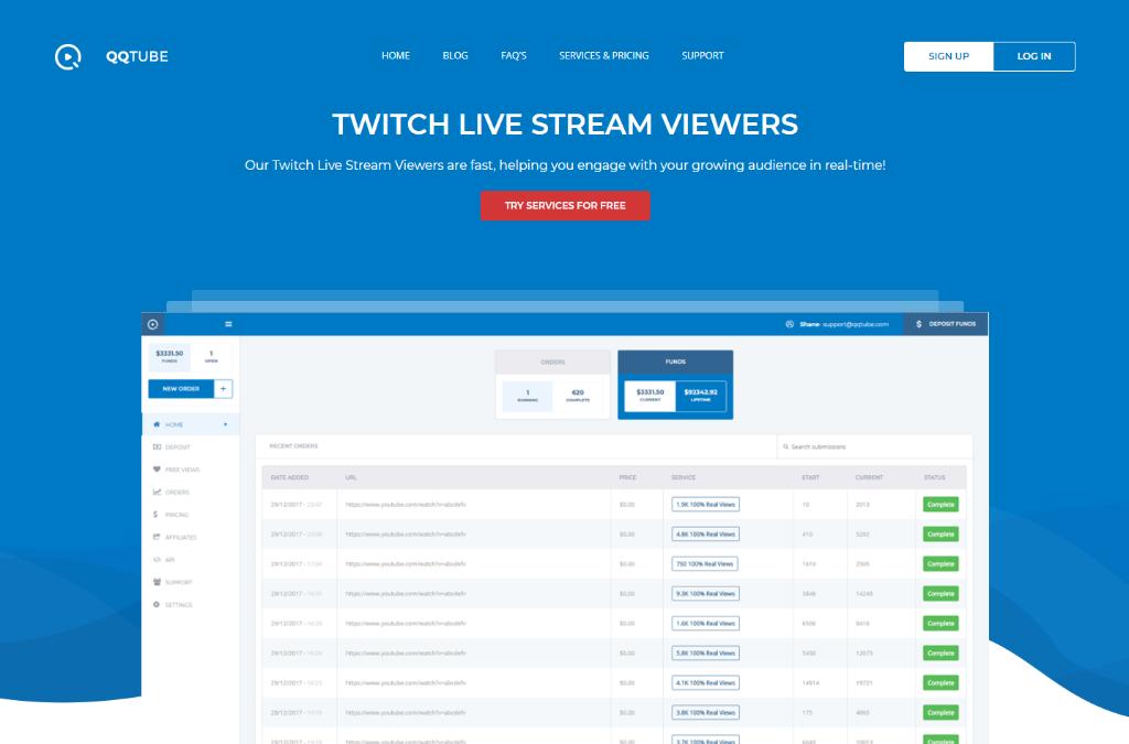 QQTube Twitch Views