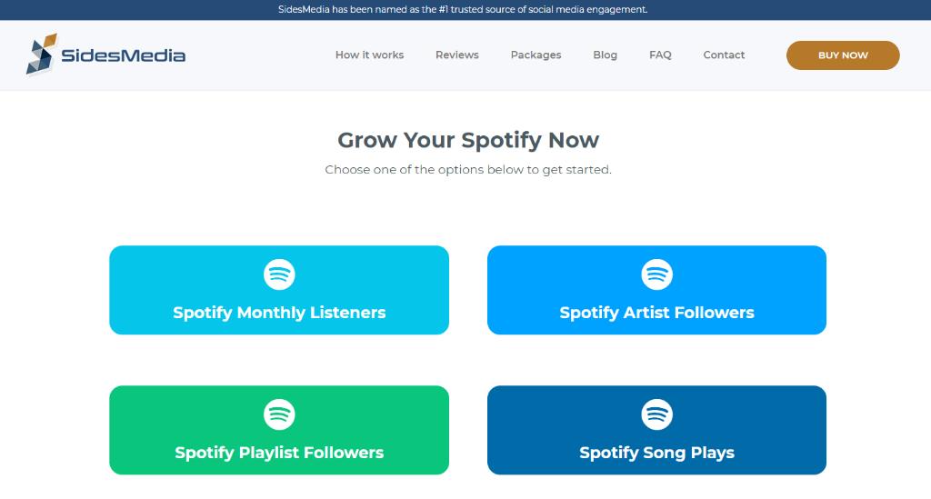 SidesMedia Spotify