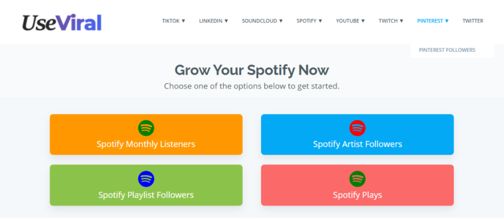 UseViral - Buy Spotify Plays, Followers, & Streams