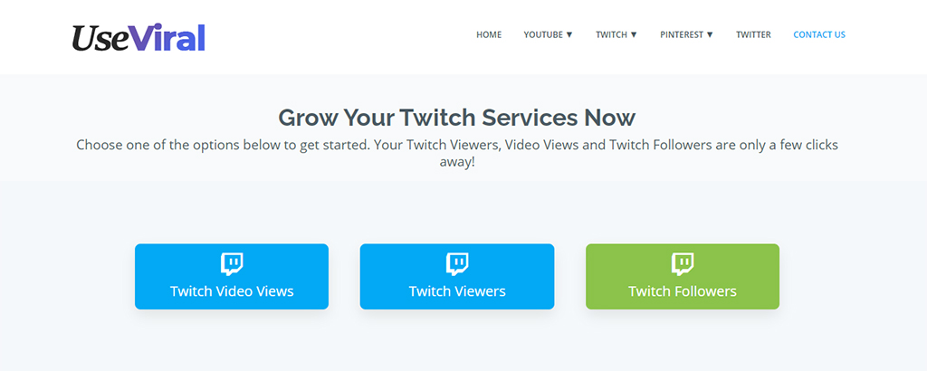 UseViral - Buy Twitch Viewers