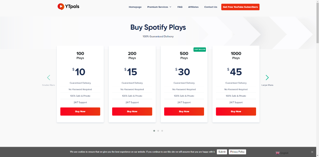 YTPals Spotify