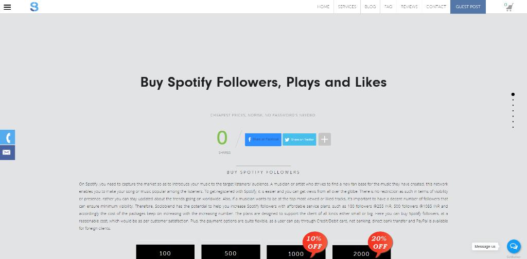 Socioblend Spotify