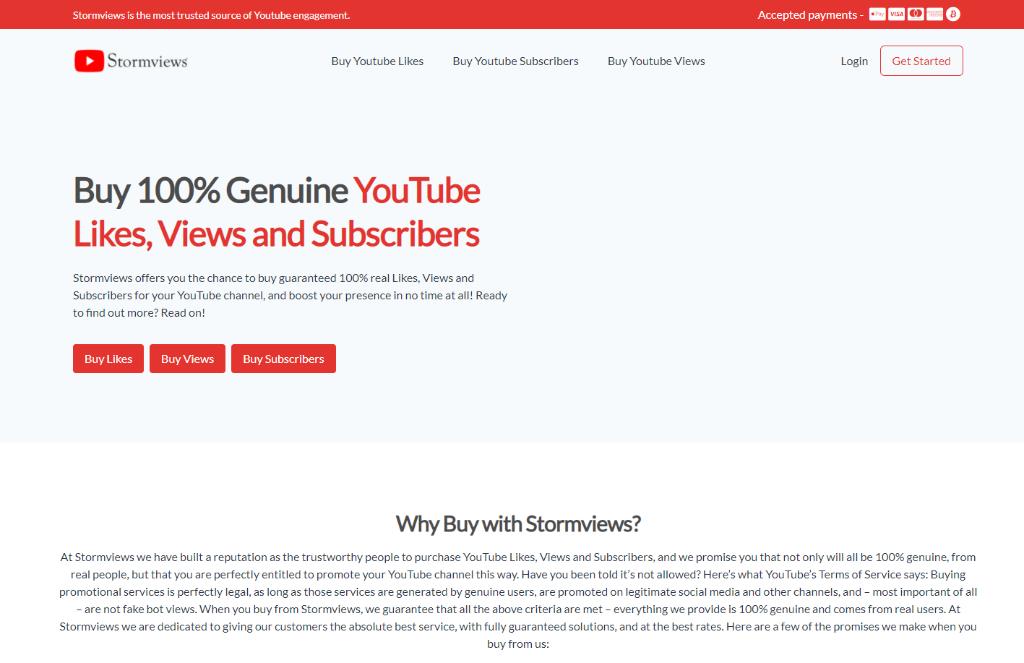 StormViews YouTube