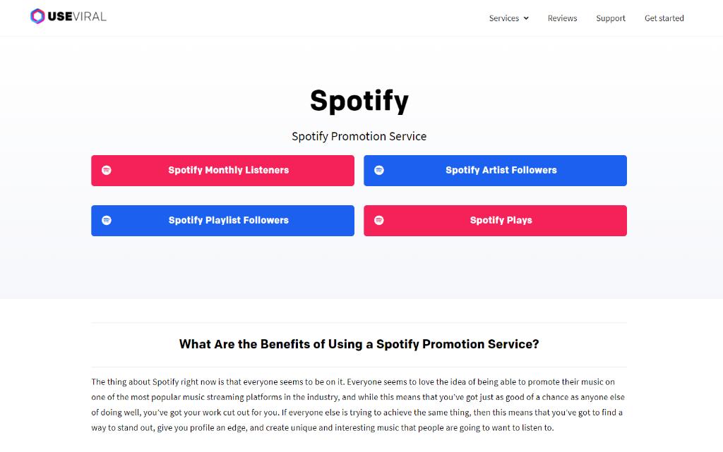 UseViral  Spotify