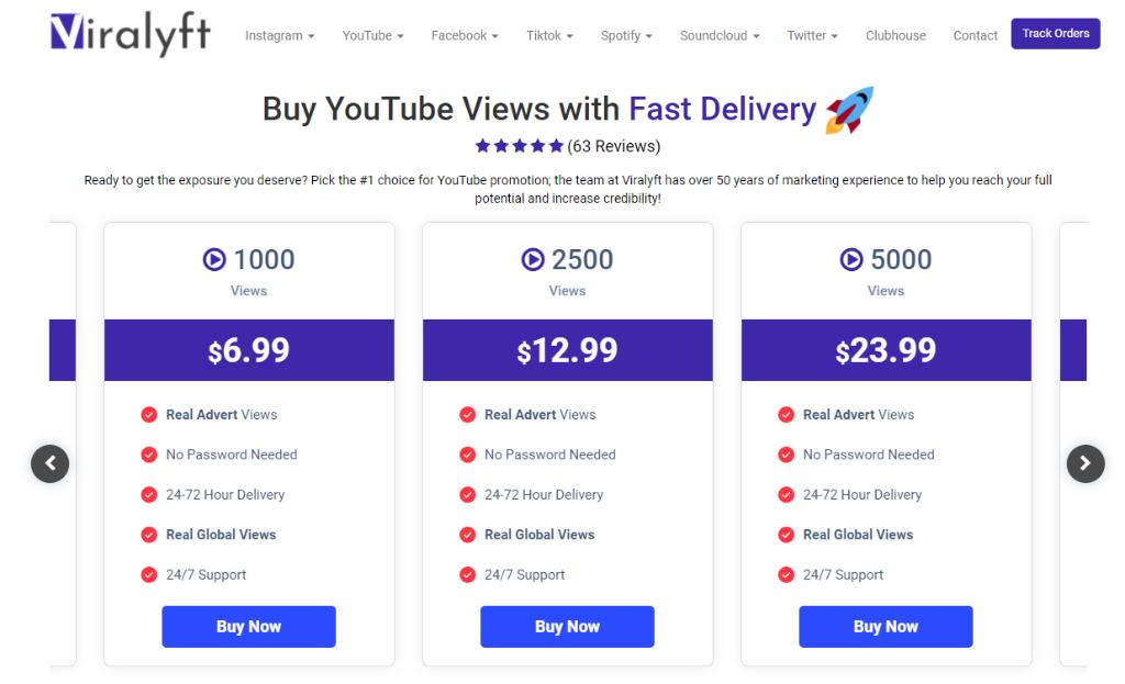 ViraLyft YouTube Views