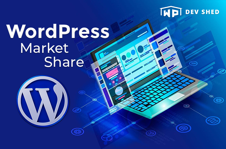 WordPress Market Share: Powering Over 41% of The Web!