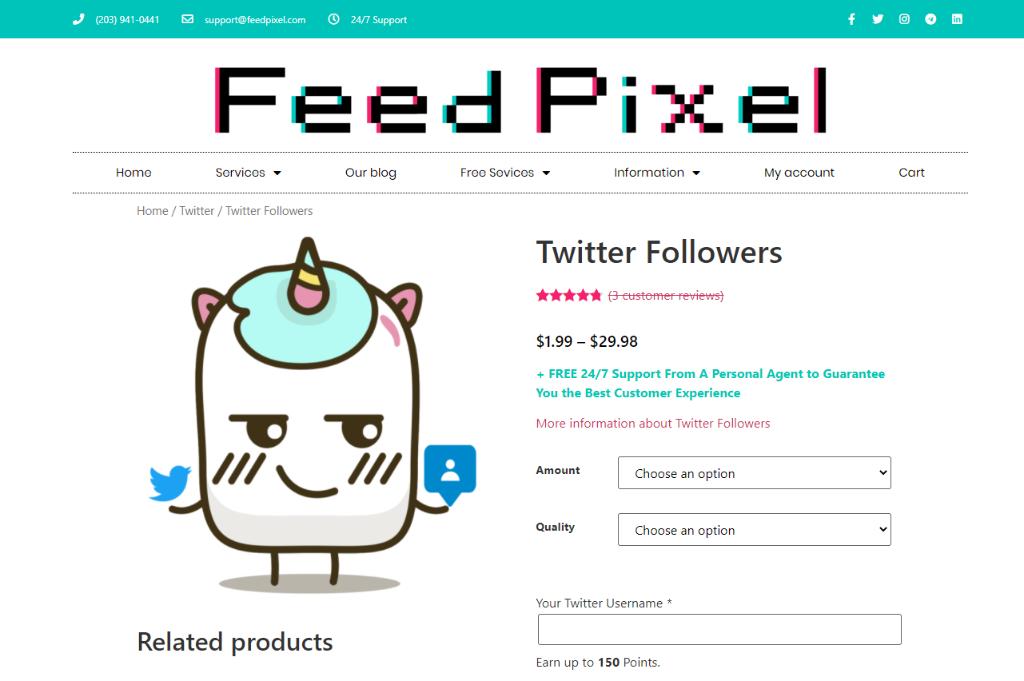 FeedPixel-Twitter-Followers